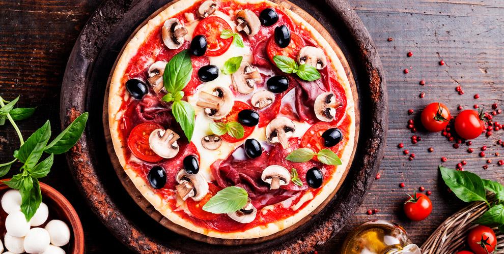 Меню пиццы, пасты, чая и кофе от итальянской пиццерии Palermo