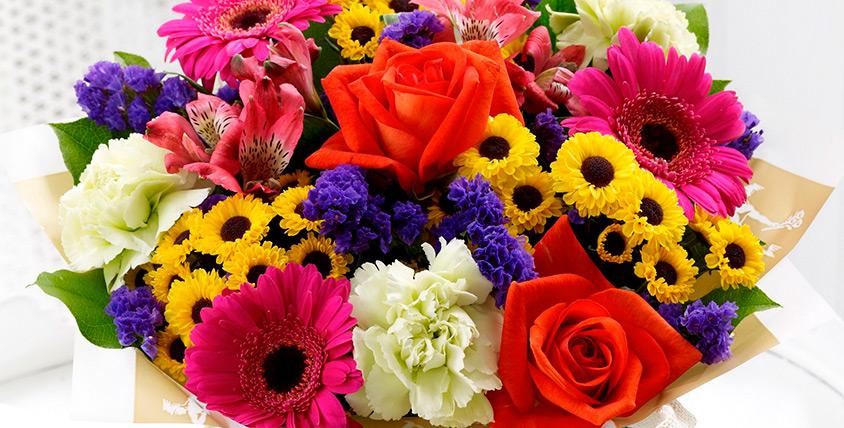 """Дарите любовь и нежность! Розы, лилии, альстромерии, герберы, ирисы и хризантемы в сети салонов цветов """"Розалин"""""""