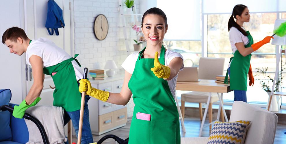 Мытье окон, уборка квартир и помещений, химчистка ковра и мебели от компании «Статус»