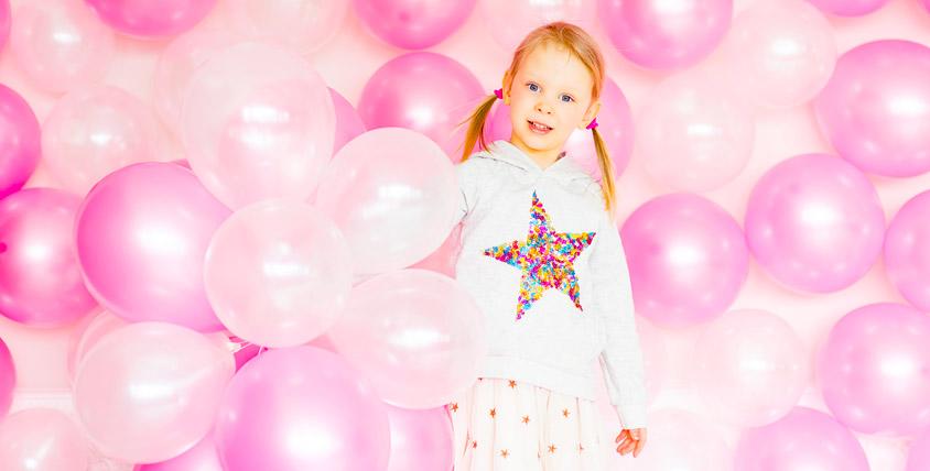 Гелиевые шары и композиции из воздушных шаров от агентства Sunny Day