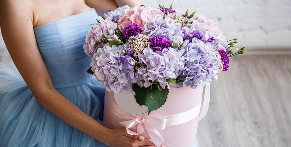 Цветы, букеты и композиции в цветочном бутике экзотики Vendella