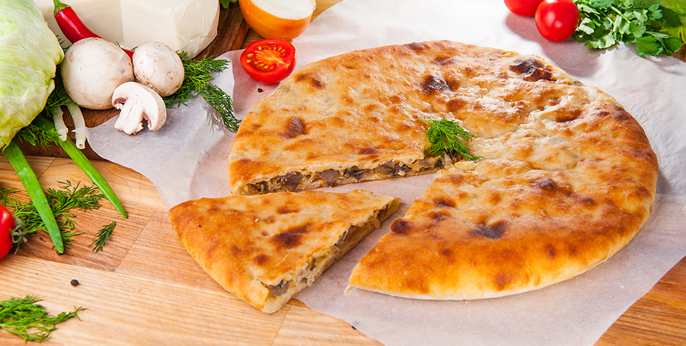 Пекарня Bake Land: меню пиццы, осетинских пирогов, салатов и закусок