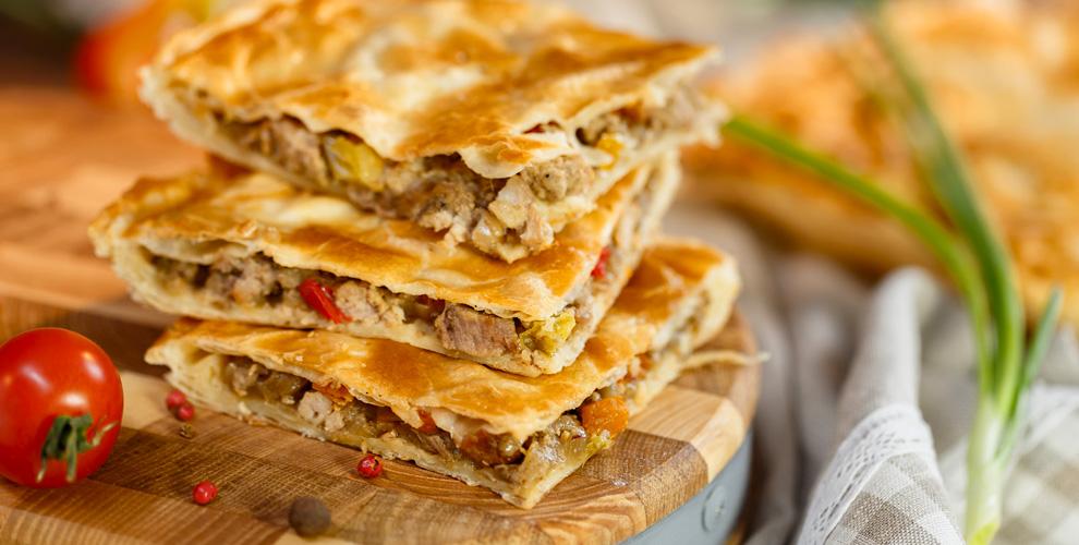 Пироги изсдобного ислоёного теста отпекарни «Мельница»