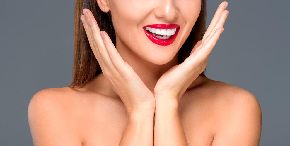 Косметическое отбеливание зубов встудии White&Smile
