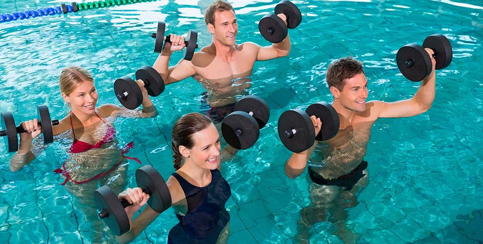 Абонементы на посещение занятий по аквааэробике в клубе «Акватик»