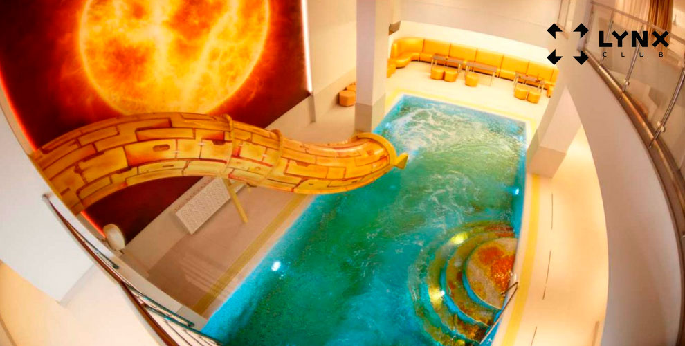 LYNX: посещение зала «Солнце», турбосолярий, проживание иаренда конференц-зала