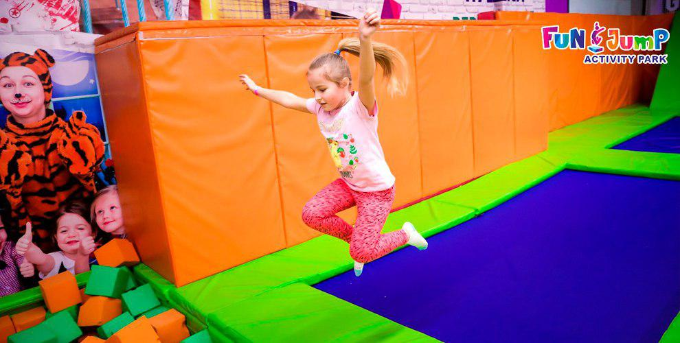 Организация вечеринки или выпускного для детей в сети активити-парков Fun Jump