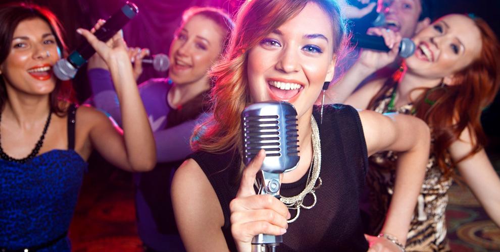 Вход в караоке и безлимитное исполнение песен в кафе PARADISE