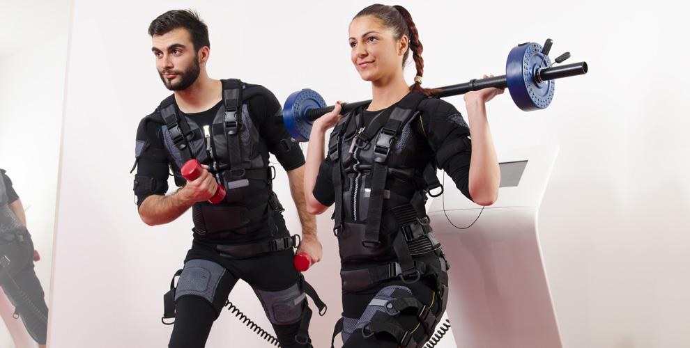 Фитнес-тренировки на EMS-тренажере в центре экстремального похудения «Бамбук»