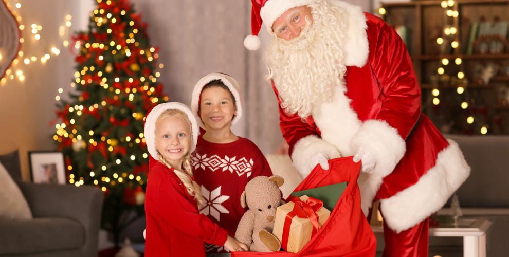 Поздравление Деда Мороза с развлекательной программой от компании «Звезды 21 века»
