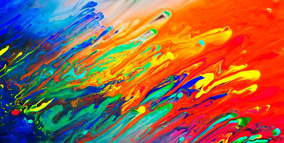 Мастер-классы порисованию картин и«Флюид Арт»встудии «Волшебный мастихин»