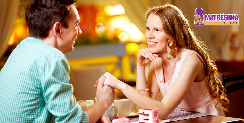 «Ресторан «В шоколаде» в Matrёshka Plaza: романтический ужин на двоих