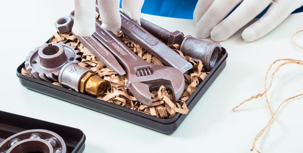 Шоколадные фигуры инаборы откомпании «Шоколадные подарки»