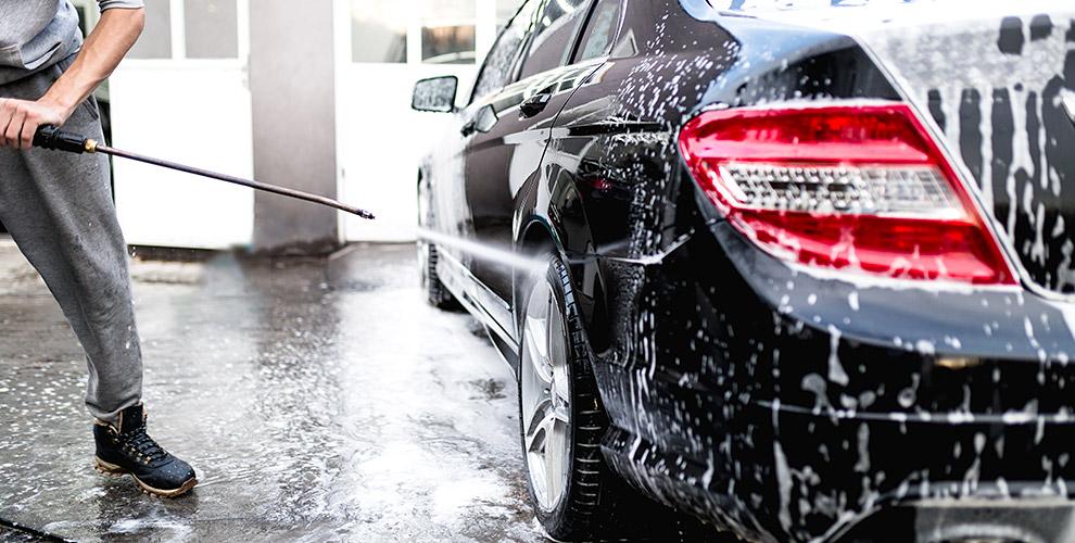 Комплексная нано-мойка автомобиля, а также полировка и химчистка в центре Route66