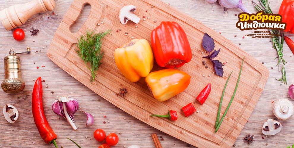 «Добрая индюшка»: пельмени, манты, перец фаршированный, хинкали, бургер изиндейки