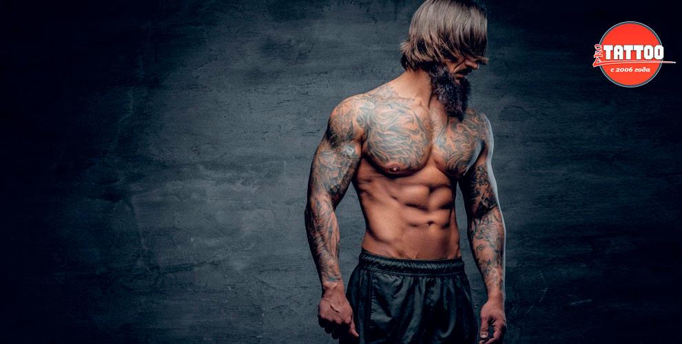 Художественные татуировки в салоне Pro Tattoo
