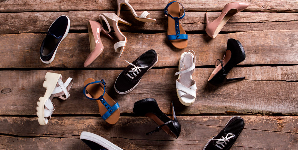 Ассортимент летней обуви всети магазинов «Гончаров», «Мегаобувь», «Немецкая обувь»