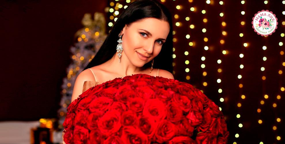 Цветочная лавка «Мама-Лия»: розы, ирисы, альстромерии, букеты икомпозиции