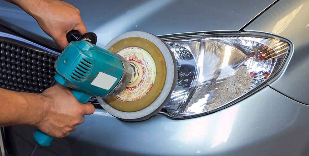 «Автосервис 007»: полировка фар и покраска элементов автомобиля, замена масла