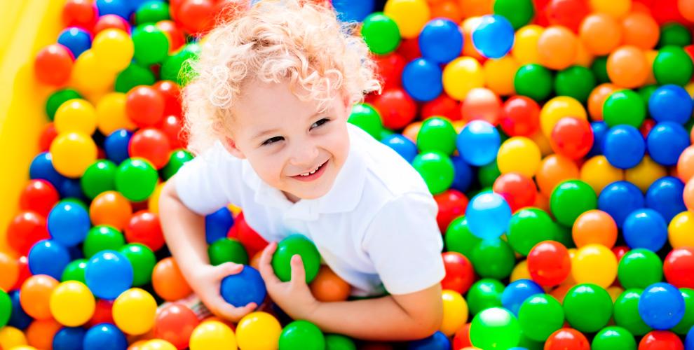 Шоу-программа и посещение детской игровой комнаты «Кубик»