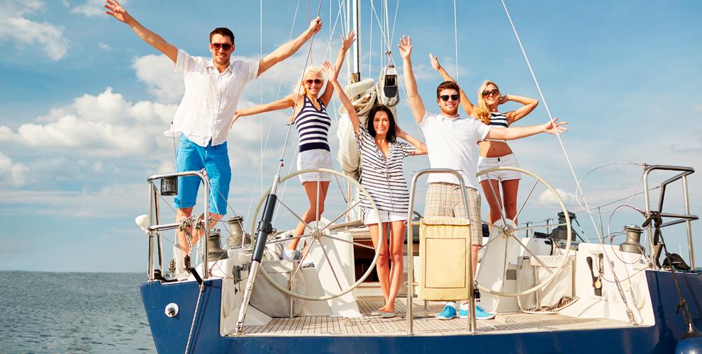 Прогулка имастер-класс поуправлению яхтой откомпании Ecosail