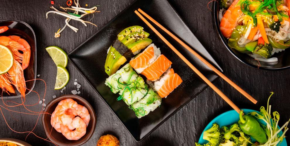 Служба доставки «Суши Восторг»: роллы, суши, сеты, супы, салаты