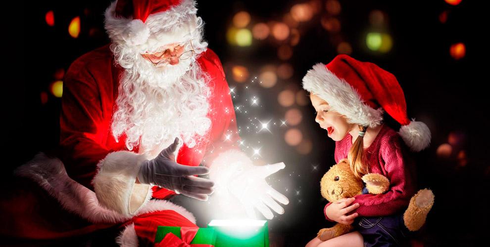 Новогодние видеопоздравления от Деда Мороза, открытки и другое от студии CARAMEL
