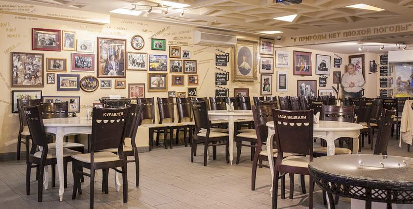 """Тематический ресторан """"Жестокий романс"""" - добро пожаловать за любимой кухней!"""