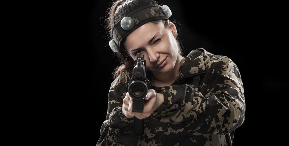 Игра в лазертаг от компании Big Gun