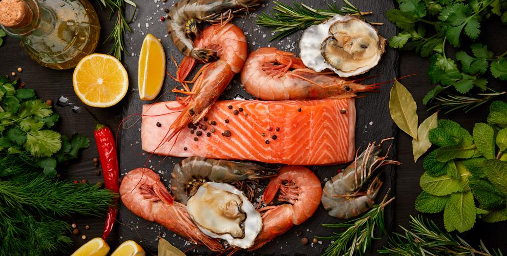 Морепродукты, рыба, готовая продукция иподарочные наборы вмагазине «Рыбное место»