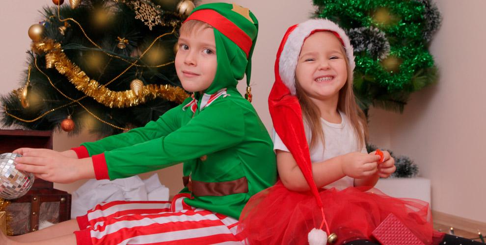 Детские новогодние костюмы ирюкзаки откомпании «Смайл_ру»
