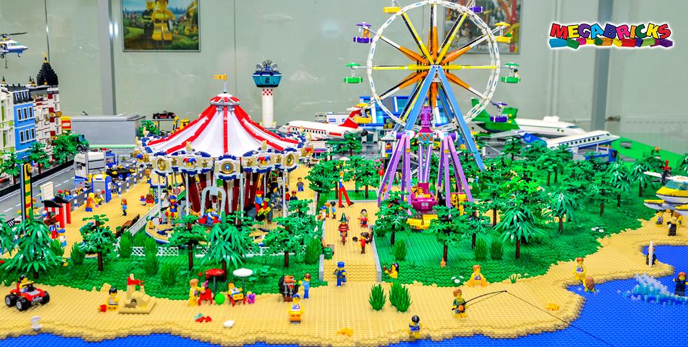 Окунитесь в мир LEGO! Билеты в музей LEGO Megabricks для взрослых и детей