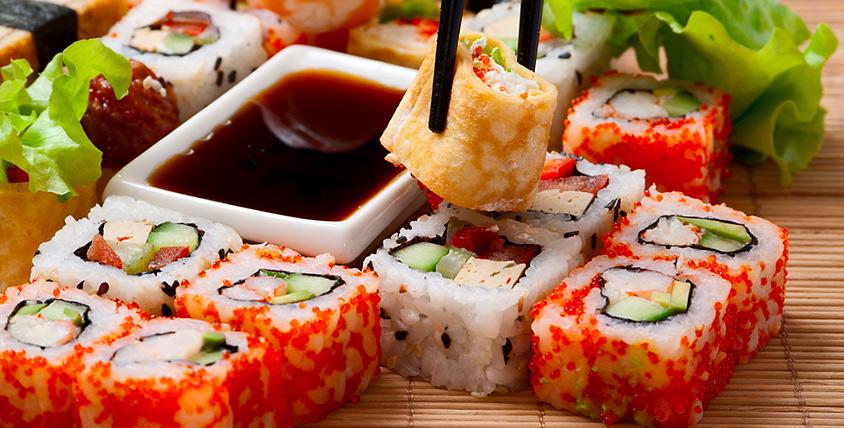 """Роллы, суши, сашими, горячие блюда, десерты от службы доставки """"Гармония вкуса"""""""