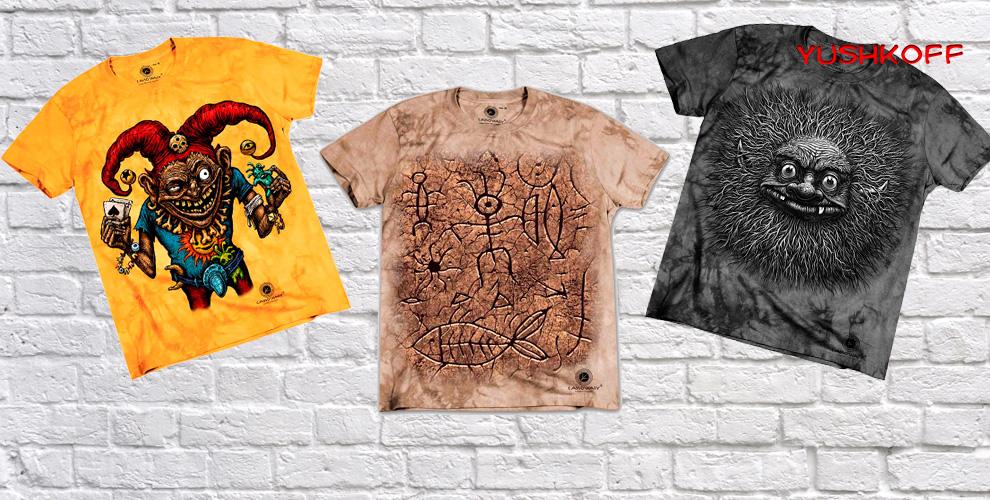Стильные футболки, шарфы и свитеры от магазина одежды «Юшкофф Австралия»
